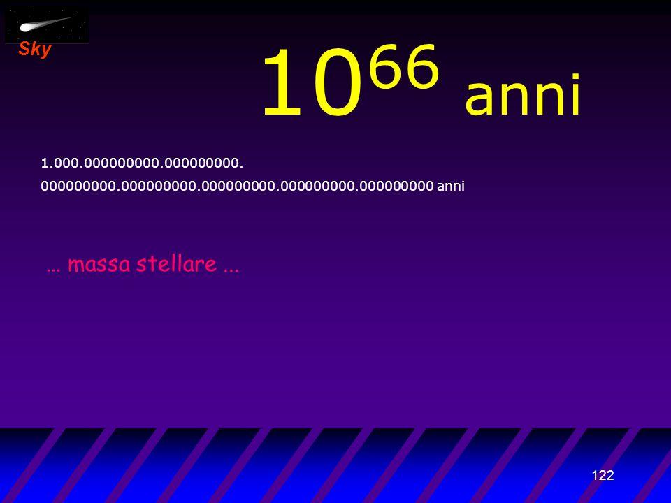 121 Sky 10 65 anni 100.000000000.000000000. 000000000.000000000.000000000.000000000.000000000 anni I buchi neri di...