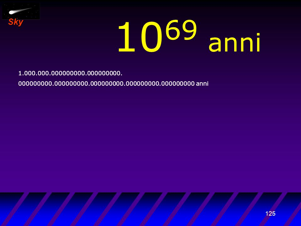 124 Sky 10 68 anni 100.000.000000000.000000000.