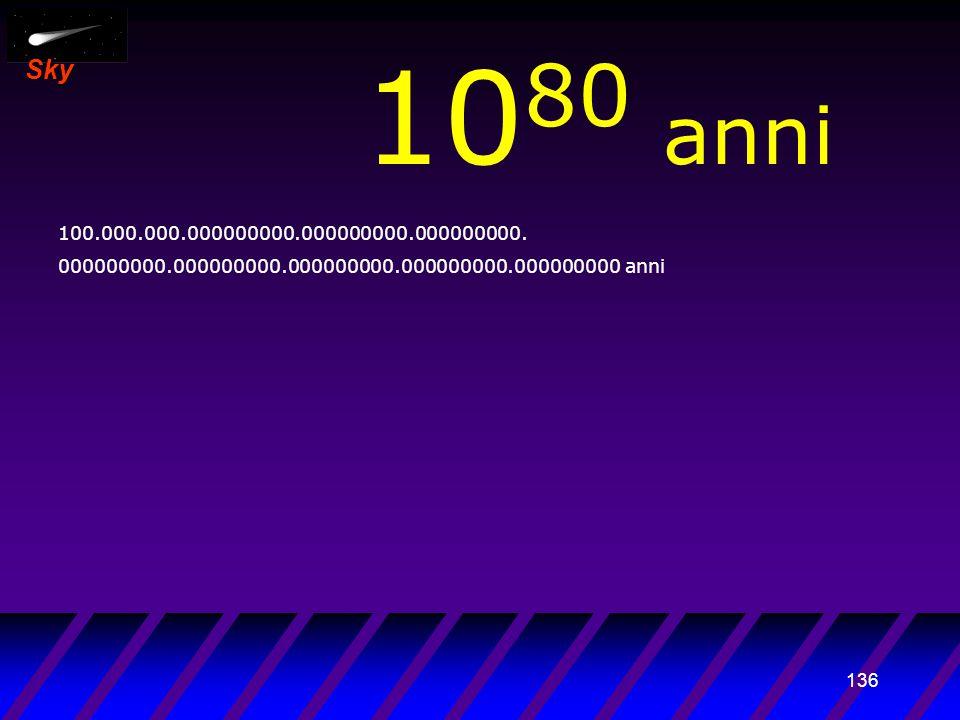 135 Sky 10 79 anni 10.000.000.000000000.000000000.000000000.