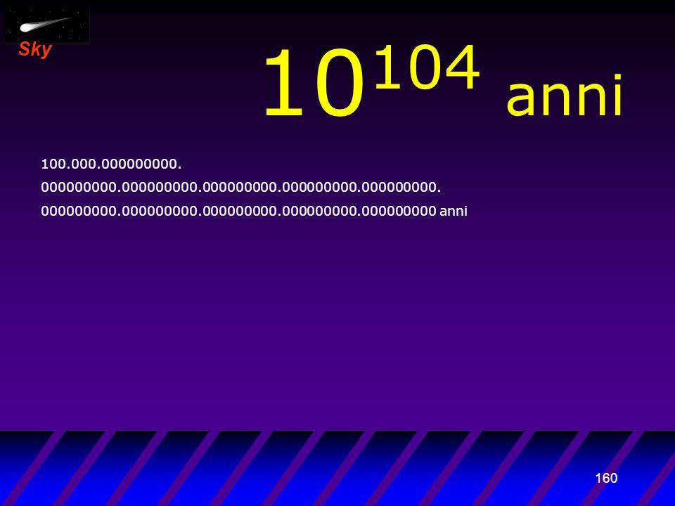 159 Sky 10 103 anni 10.000.000000000. 000000000.000000000.000000000.000000000.000000000.