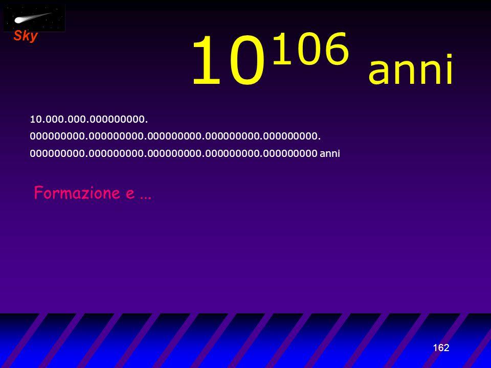 161 Sky 10 105 anni 1.000.000.000000000. 000000000.000000000.000000000.000000000.000000000.