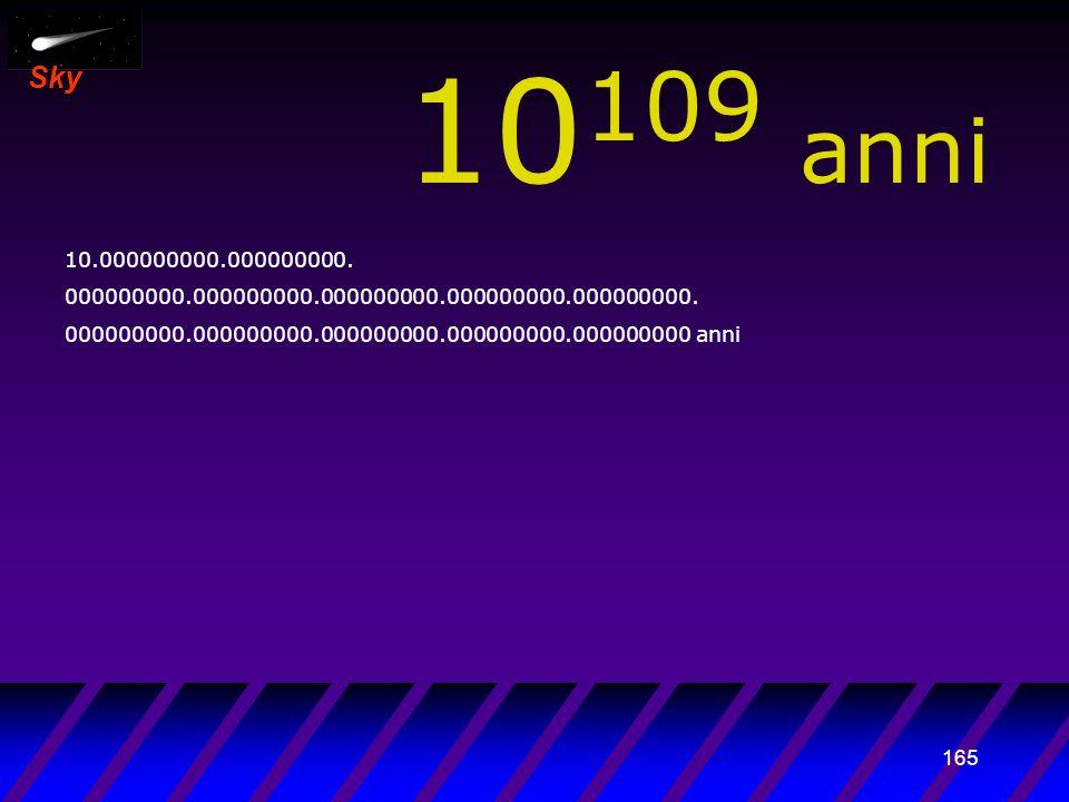 164 Sky 10 108 anni 1.000.000.000.000000000. 000000000.000000000.000000000.000000000.000000000.