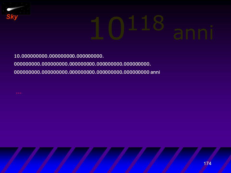 173 Sky 10 117 anni 1.000.000.000.000000000.000000000.