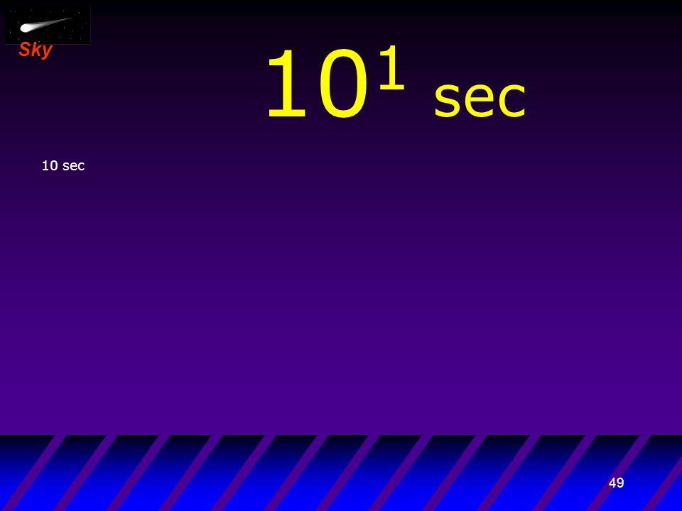 48 Sky 10 -1 sec 1 sec