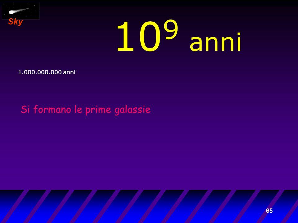 64 Sky 10 8 anni 100.000.000 anni