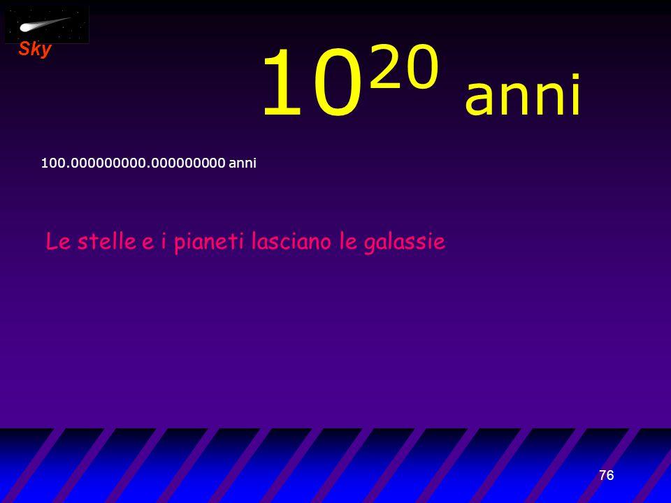 75 Sky 10 19 anni 10.000000000.000000000 anni