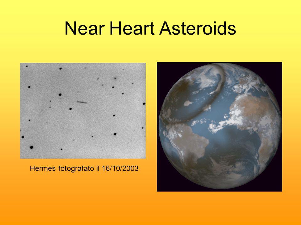Near Heart Asteroids Hermes fotografato il 16/10/2003