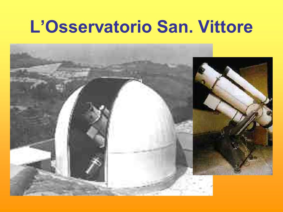 L'Osservatorio San. Vittore