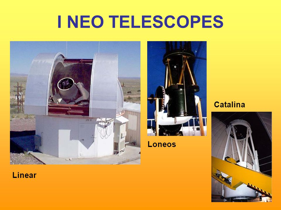 I NEO TELESCOPES Linear Loneos Catalina