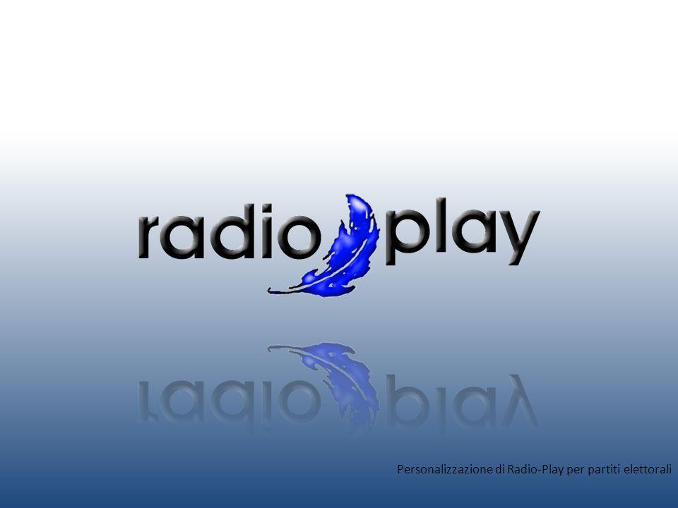 Perché personalizzare Radio-Play Per avere un seguito sempre maggiore un partito elettorale deve puntare tutto sulla comunicazione.