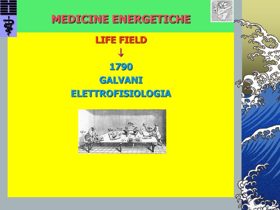 MEDICINE ENERGETICHE LIFE FIELD 1790GALVANIELETTROFISIOLOGIA