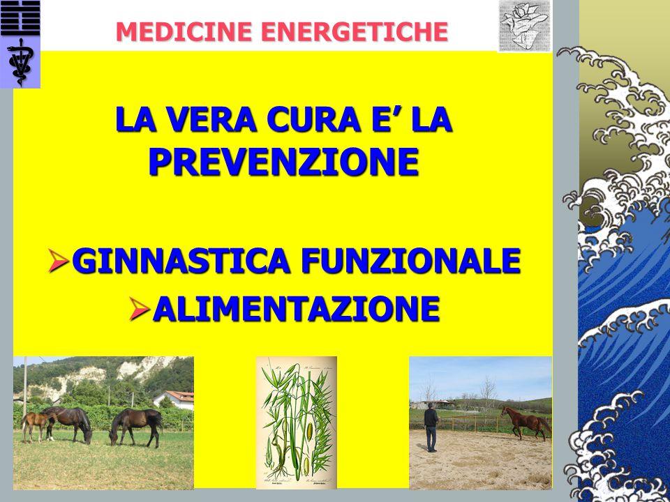 MEDICINE ENERGETICHE LA VERA CURA E' LA PREVENZIONE  GINNASTICA FUNZIONALE  ALIMENTAZIONE