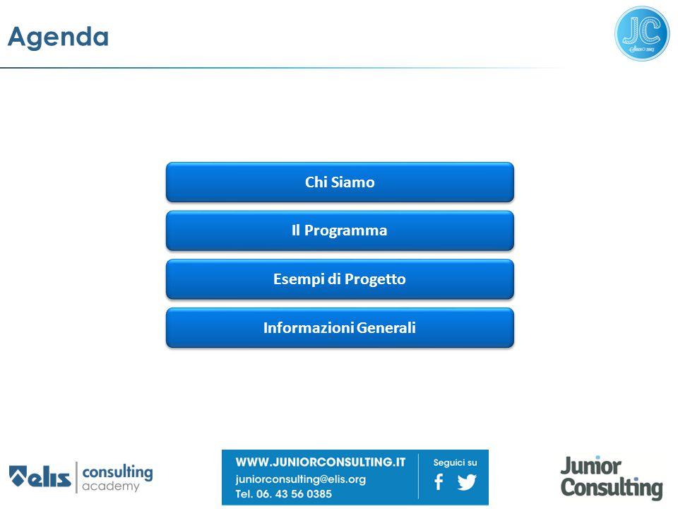 Agenda Chi Siamo Il Programma Informazioni Generali Esempi di Progetto