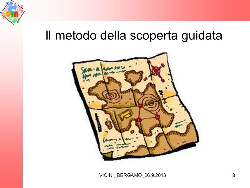VICINI_BERGAMO_26.9.2013 Il metodo della scoperta guidata 8
