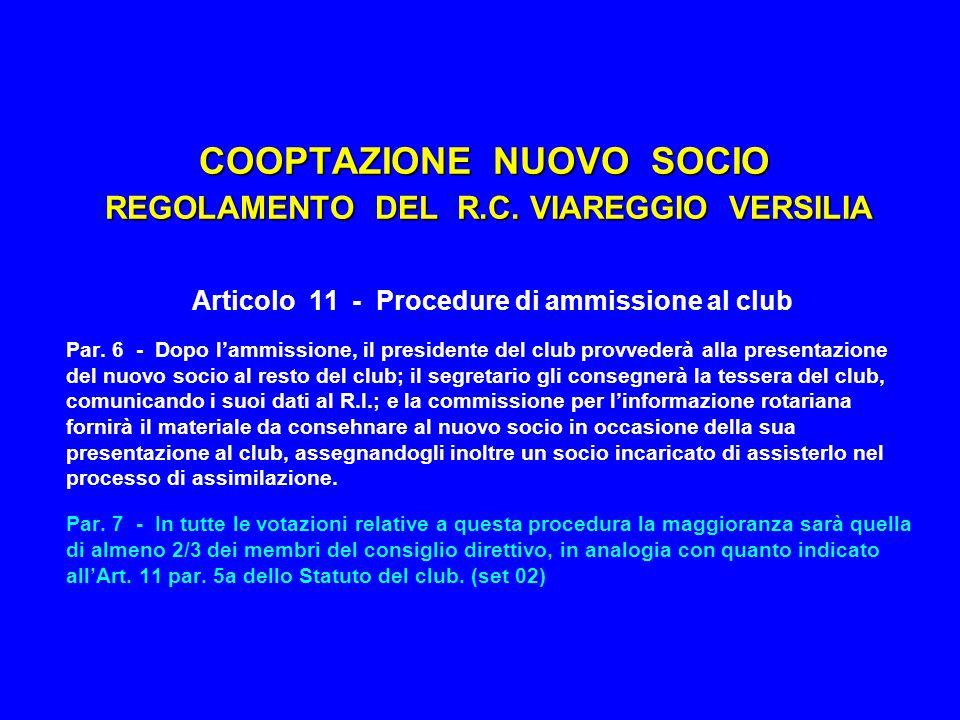 ROTARY CLUB VIAREGGIO VERSILIA SCHEMA CANONICO - parte A PRESENTATORE compila la proposta e la consegna al SEGRETARIO presenta la proposta al CONSIGLIO DIRETTIVO può richiedere il parere della COMMISSIONE AMMISSIONI fa le sue raccomandazioni al CONSIGLIO DIRETTIVO dispone per l'incontro con il CANDIDATO