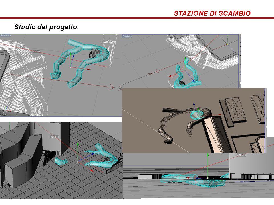 STAZIONE DI SCAMBIO Come nasce stazione di scambio Studio del progetto.