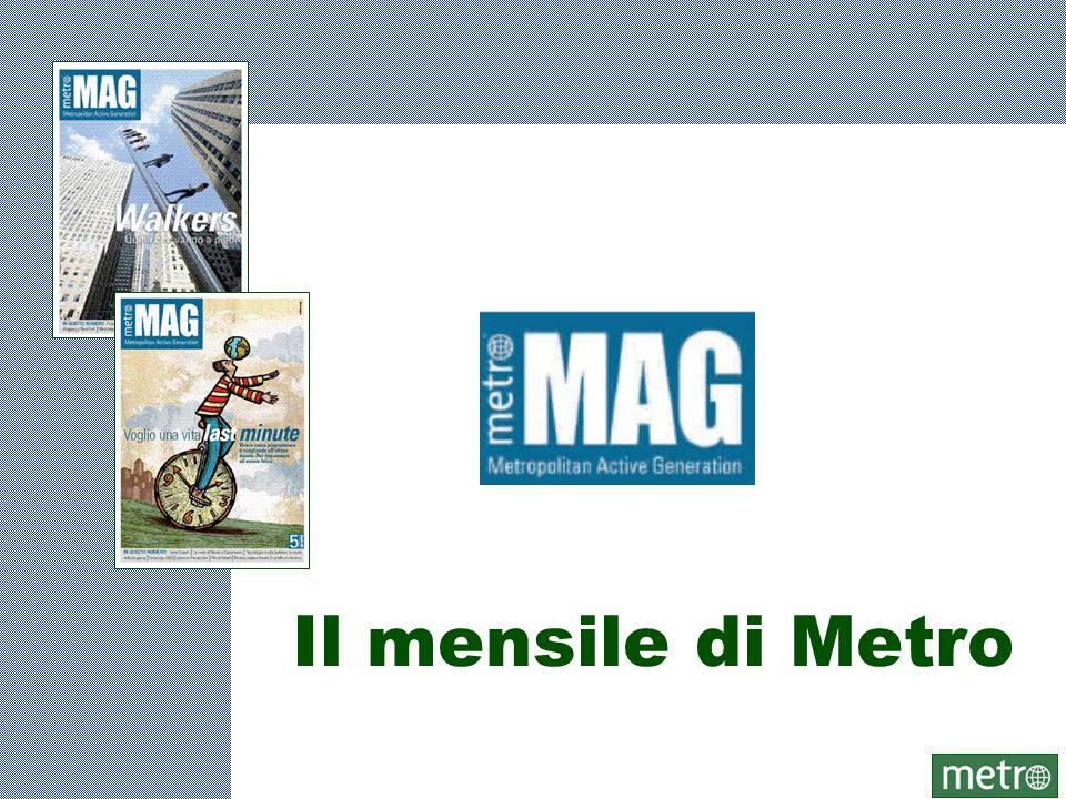 Il mensile di Metro