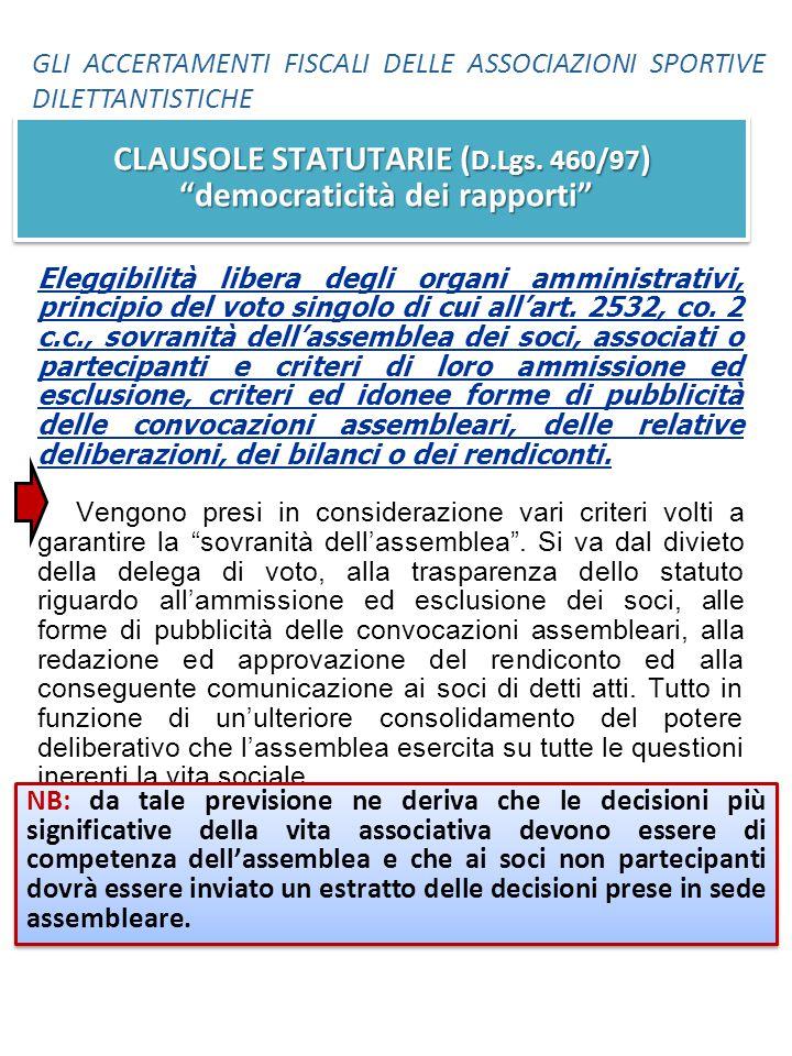 Eleggibilità libera degli organi amministrativi, principio del voto singolo di cui all'art. 2532, co. 2 c.c., sovranità dell'assemblea dei soci, assoc