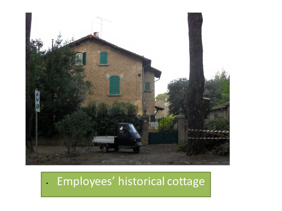 • Employees' historical cottage
