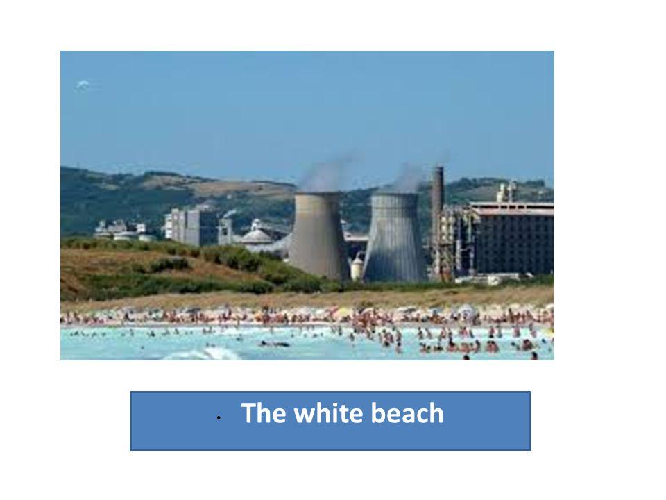 • The white beach