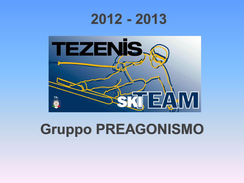 Gruppo PREAGONISMO 2012 - 2013