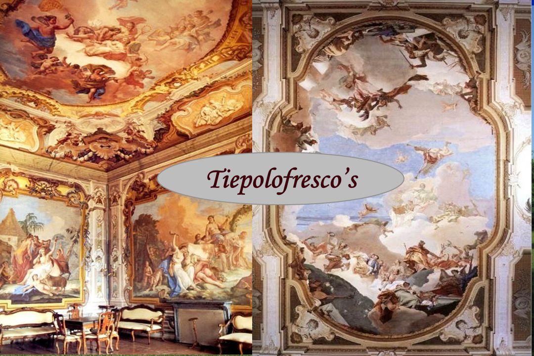 Villa Pisani Tiepolofresco's