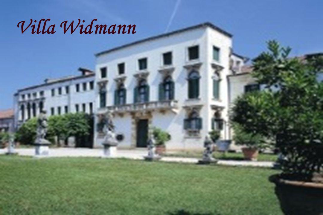 Brenta Kanaal Villa Widmann