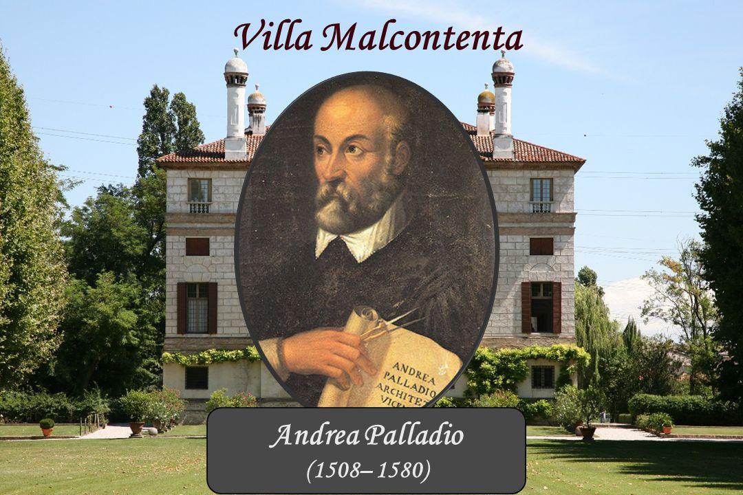 Brenta Kanaal Villa Malcontenta Andrea Palladio (1508– 1580)