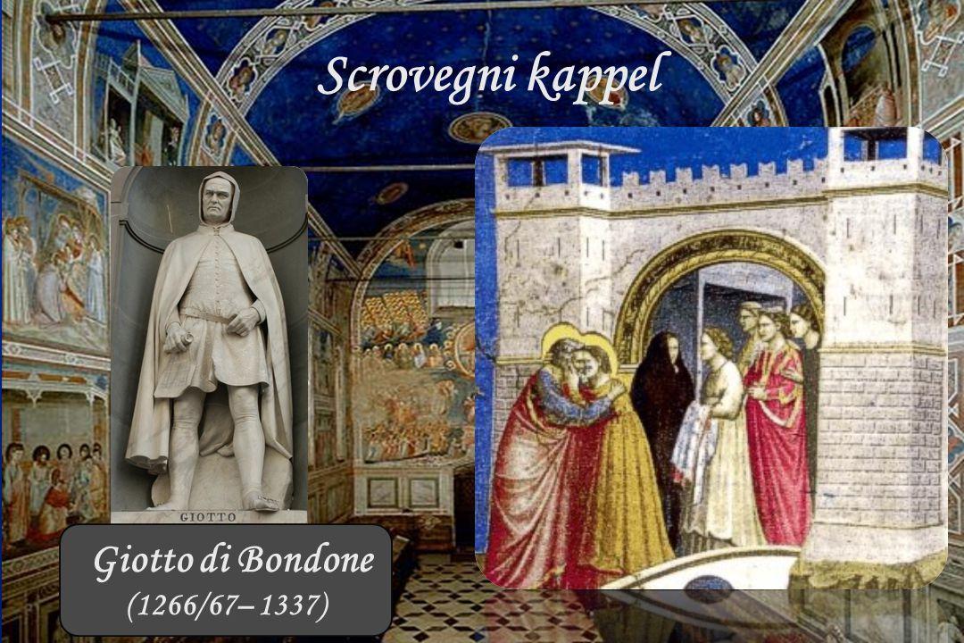 Padua 26 september 2014 Scrovegni kappel Giotto di Bondone (1266/67– 1337)