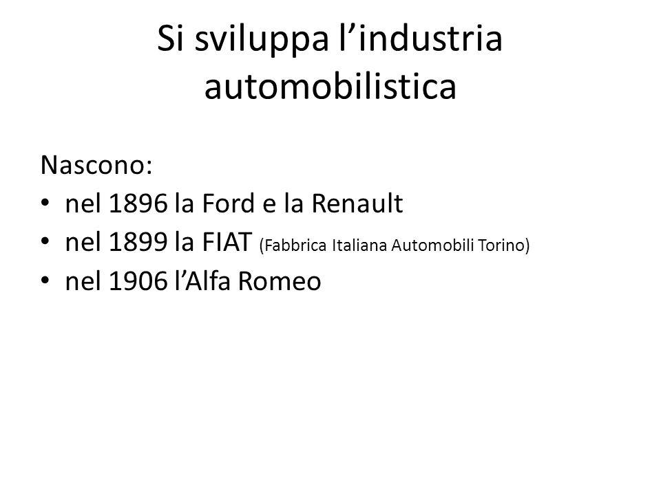 Prime automobili Nel fiorente periodo della Belle Epoque si diffusero le prime lussuose automobili.