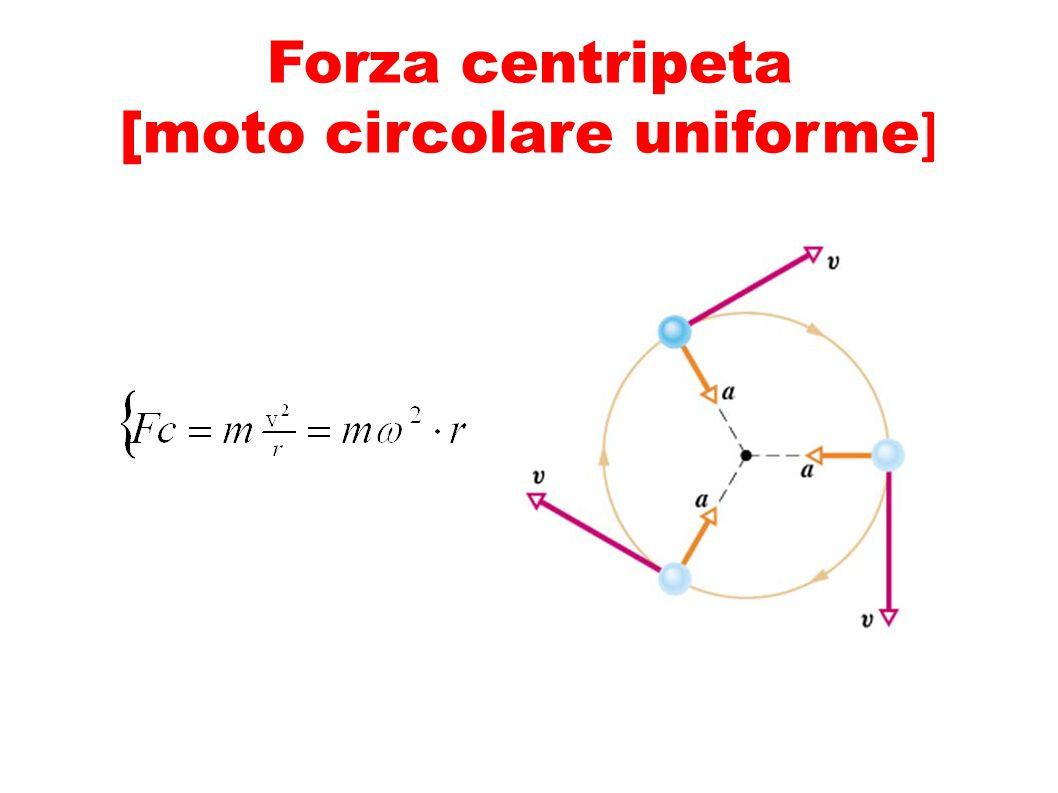 Forza centripeta [moto circolare uniforme ]