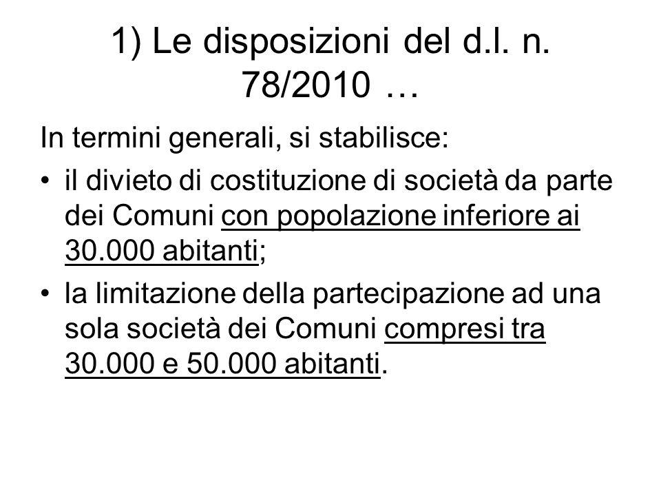 1) Le disposizioni del d.l.n.