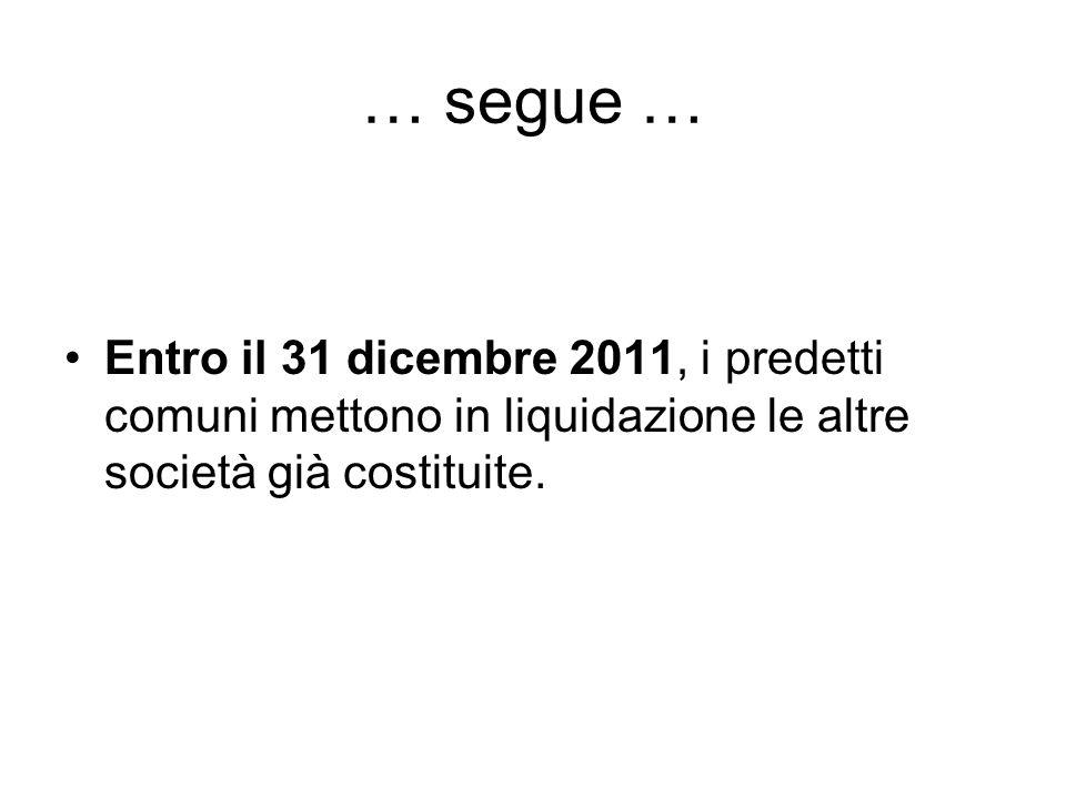 4) Le società strumentali e l'articolo 13 del decreto legge n.