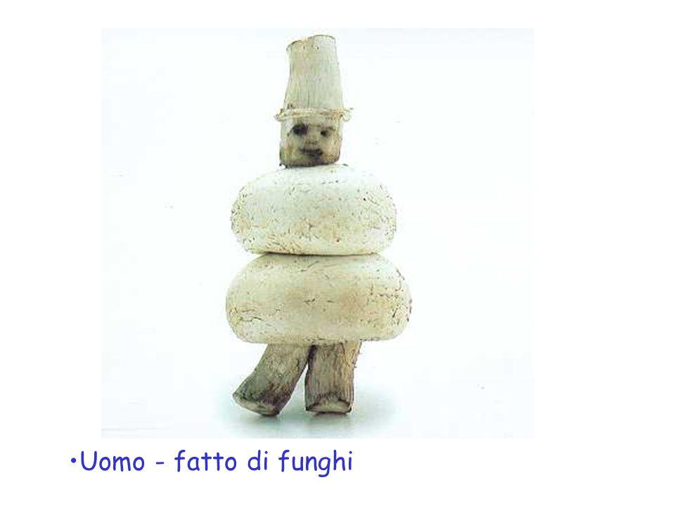 Uomo - fatto di funghi