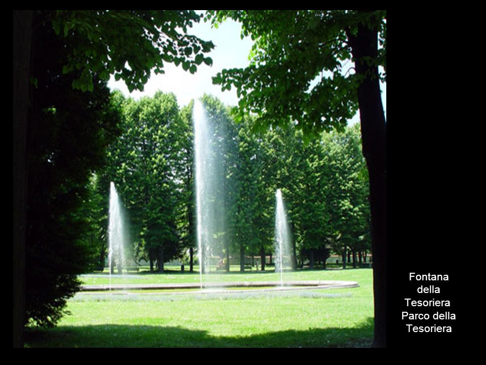 Fontana della Tesoriera Parco della Tesoriera