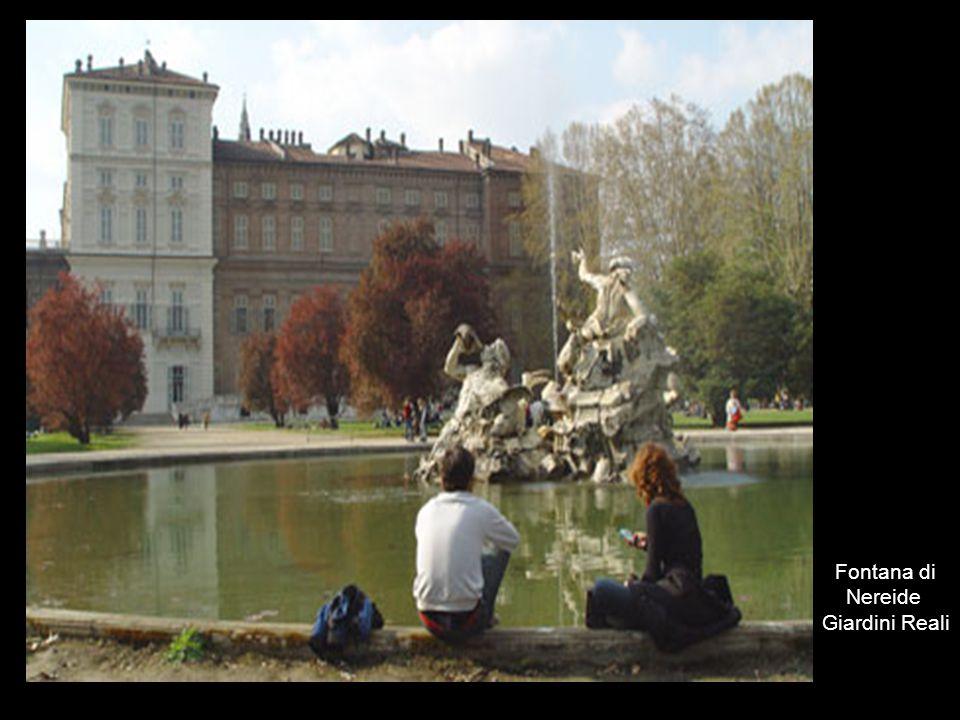 Fontana di Nereide Giardini Reali