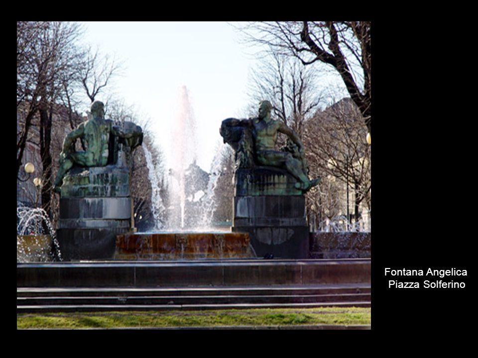 Fontana Angelica Piazza Solferino