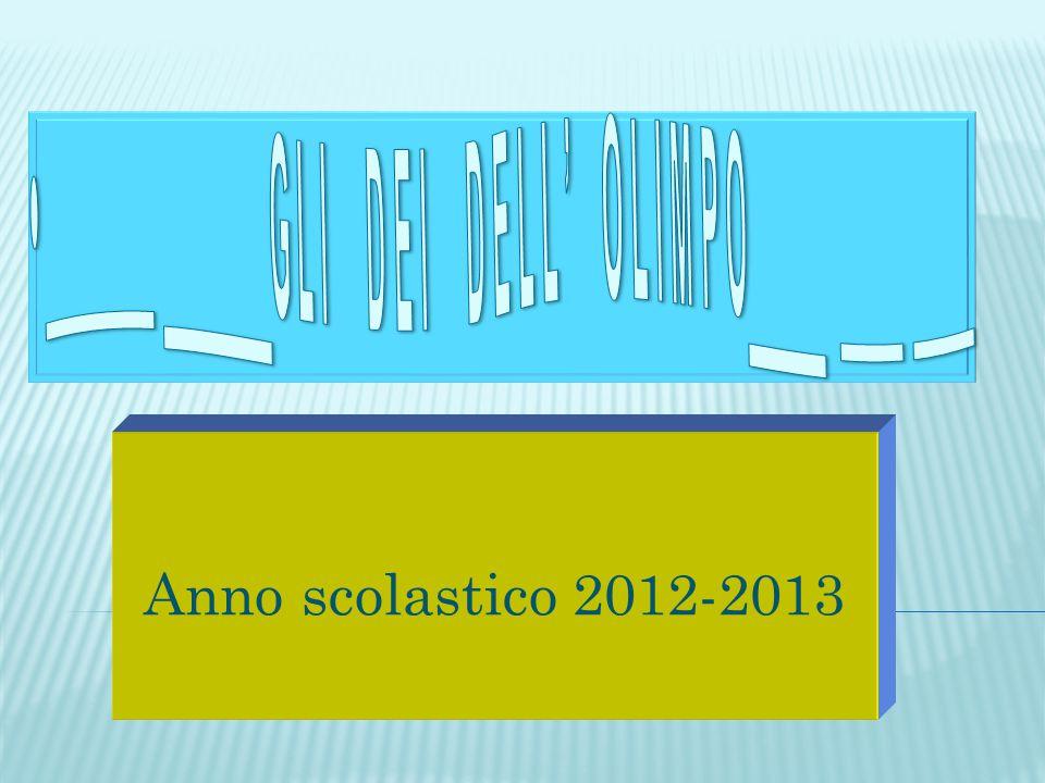 Anno scolastico 2012-2013