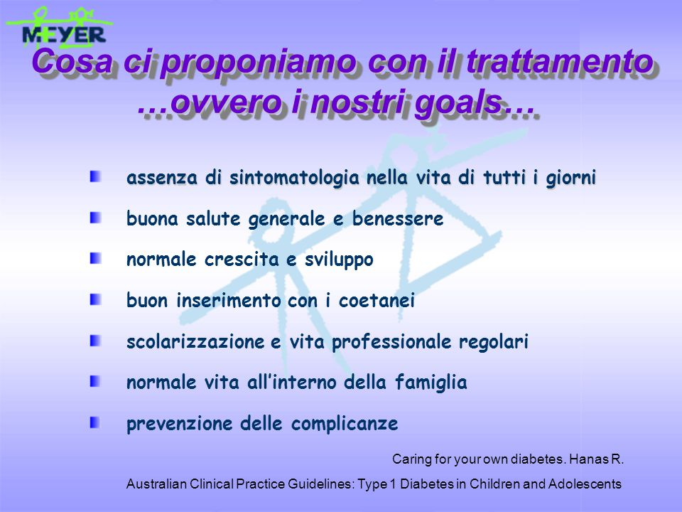 assenza di sintomatologia nella vita di tutti i giorni buona salute generale e benessere normale crescita e sviluppo buon inserimento con i coetanei s