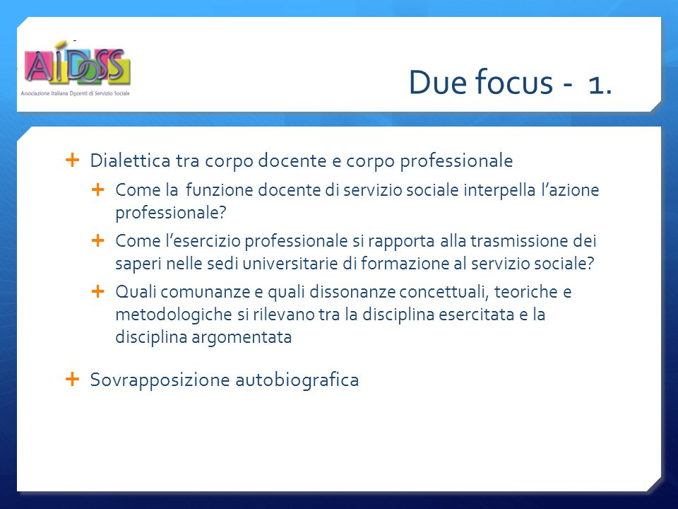 Due focus - 1.