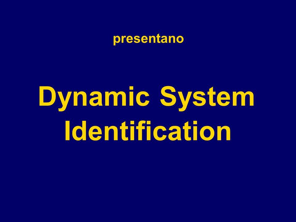 presentano DynamicSystem Identification