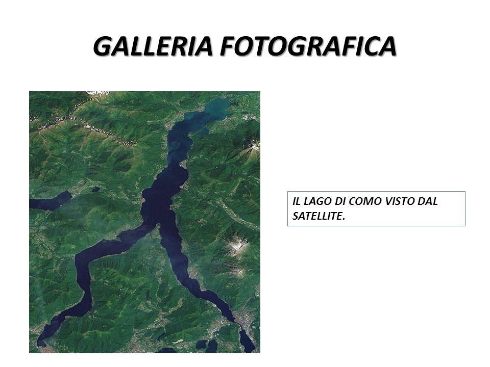 GALLERIA FOTOGRAFICA IL LAGO DI COMO VISTO DAL SATELLITE.