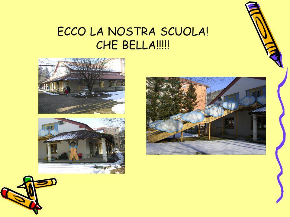 ECCO LA NOSTRA SCUOLA! CHE BELLA!!!!!