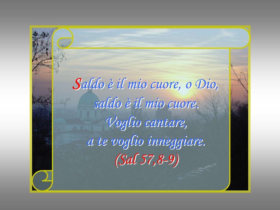 R egni della terra, cantate a Dio, cantate inni al Signore. (Sal 68,33) R egni della terra, cantate a Dio, cantate inni al Signore. (Sal 68,33)