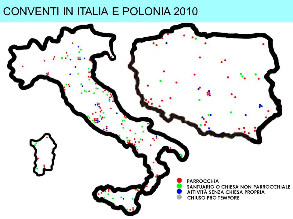 CONVENTI IN ITALIA E POLONIA 2010