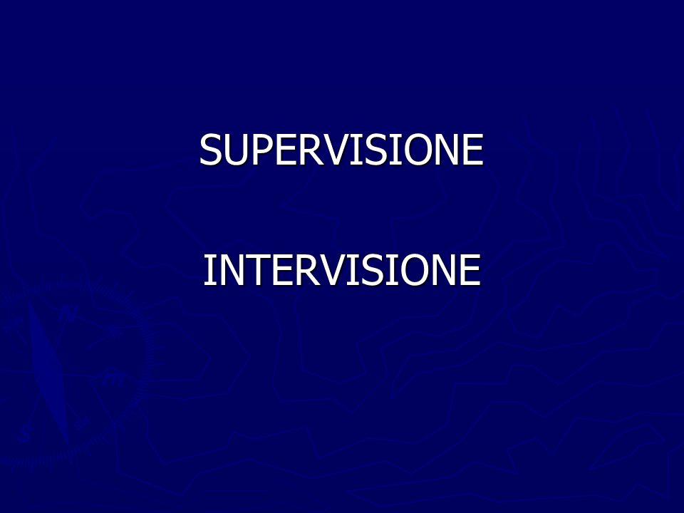 SUPERVISIONEINTERVISIONE
