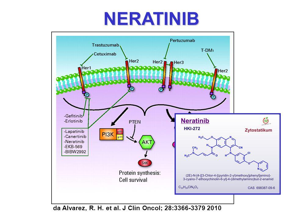 da Alvarez, R. H. et al. J Clin Oncol; 28:3366-3379 2010 NERATINIB