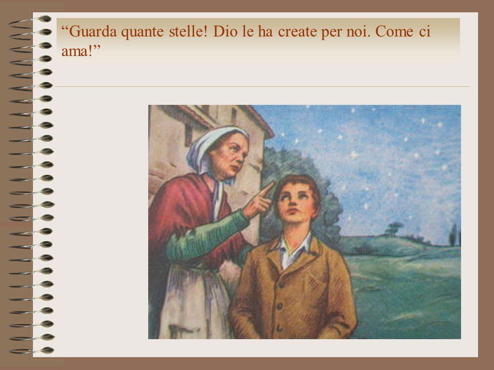 Mia madre ci insegnava a vedere Dio nel povero. Mamma, posso portare questa pagnotta a Maddalena.