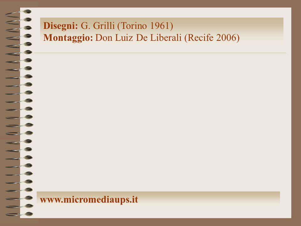 Disegni: G. Grilli (Torino 1961) Montaggio: Don Luiz De Liberali (Recife 2006) www.micromediaups.it