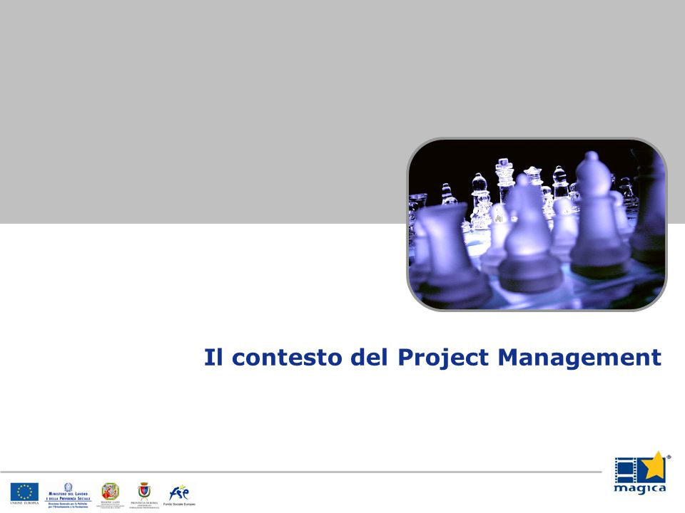 Il contesto del Project Management